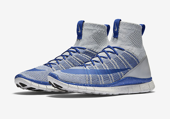 new product 47780 c0642 Nike Free Flyknit Mercurial Superfly Wolf Grey