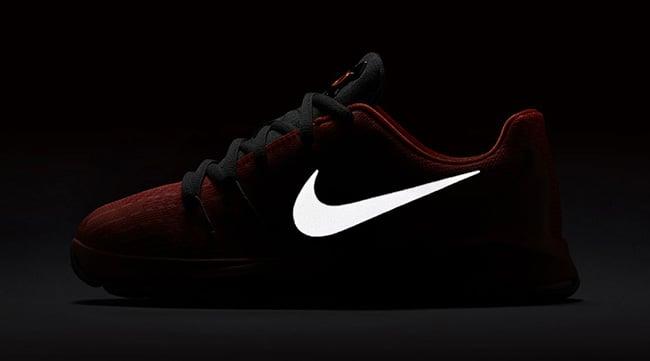 Nike KD 8 GS Orange Reflective