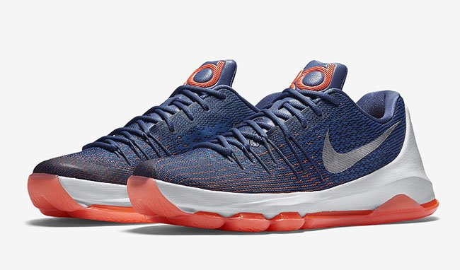 save off 1435a bfccd Nike KD 8 Ocean Fog Release Date | SneakerFiles