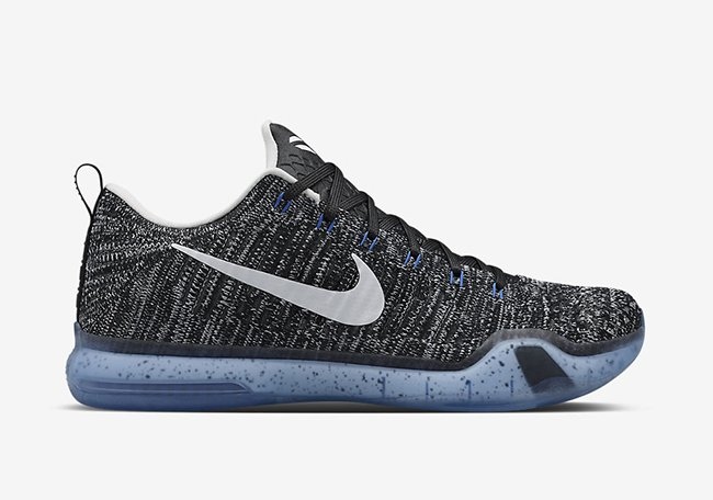 Nike Kobe 10 Elite Low HTM Black White Blue
