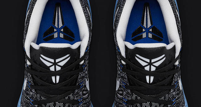 Nike Kobe 10 Elite Low HTM Black White Blue