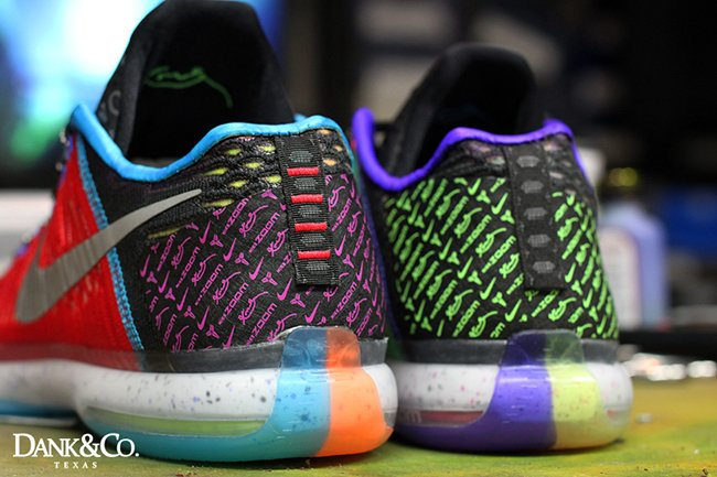 buy online 89483 ea9ce Nike Kobe 10 Elite Low What The Custom