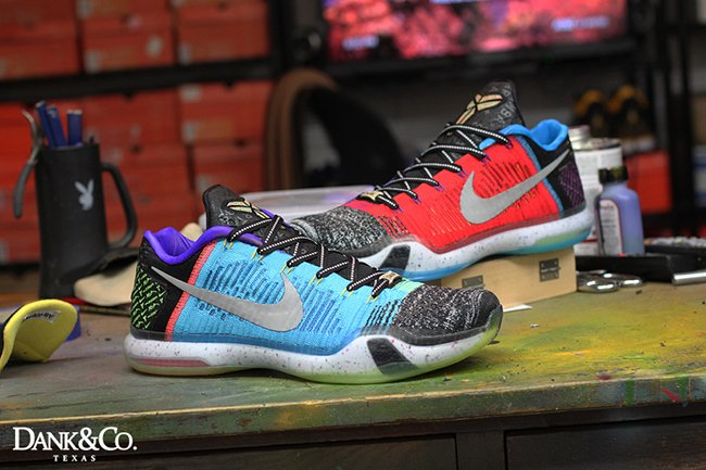 Nike Kobe 10 Elite Low What The Custom