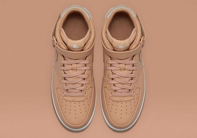 NikeLab Air Force 1 Mid Tan