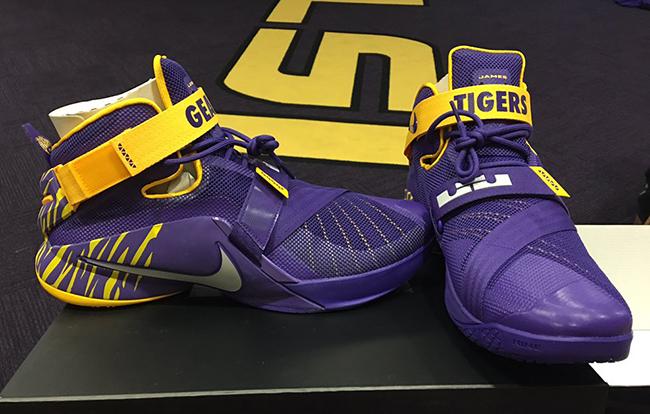 Nike LeBron Soldier 9 LSU Tigers Ben Simmons