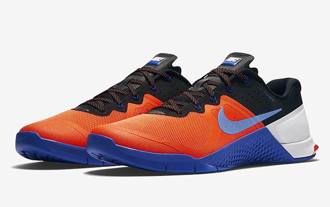 Nike Metcon 2 Blue White Black Orange