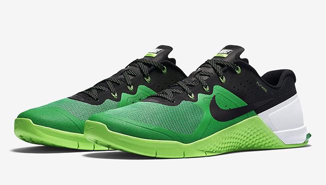 Nike Metcon 2 Green Black Grey