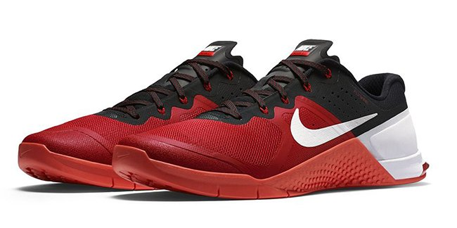 Nike Metcon 2 Gym Red Crimson White