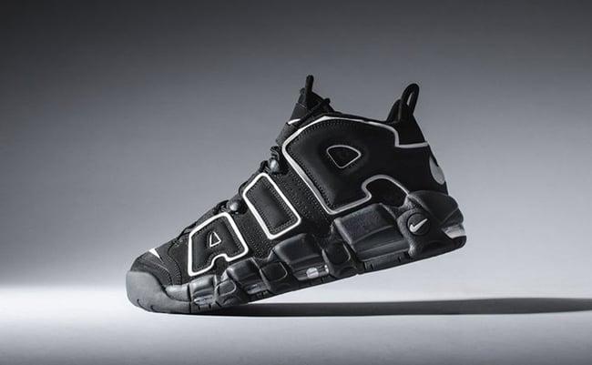 Nike More Uptempo OG Black White