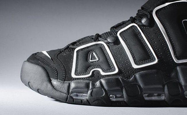 Nike More Uptempo OG Black White