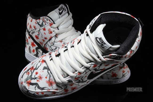 reasonably priced great prices online shop Nike SB Dunk High Cherry Blossom | SneakerFiles