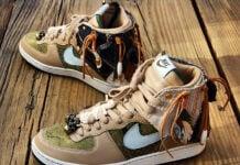 Nike Terminator High Premium Savages Custom