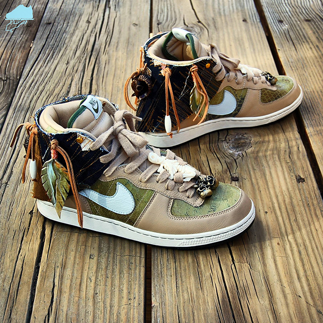 Nike Terminator High Premium Savages Custom