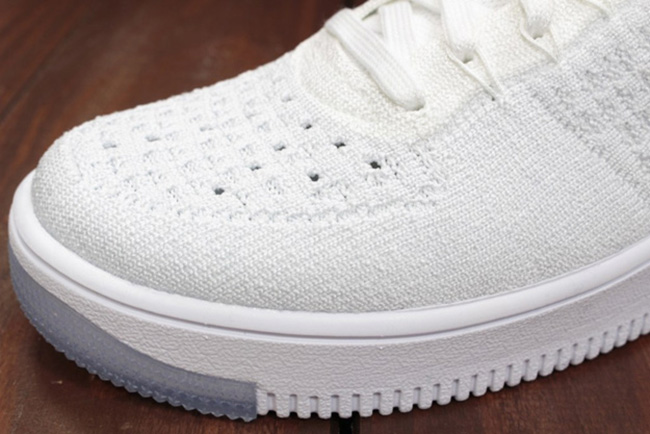 Nike WMNS Flyknit Air Force 1 Ultra White