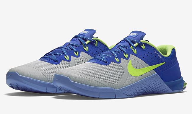 Nike WMNS Metcon 2 Platinum Green Blue