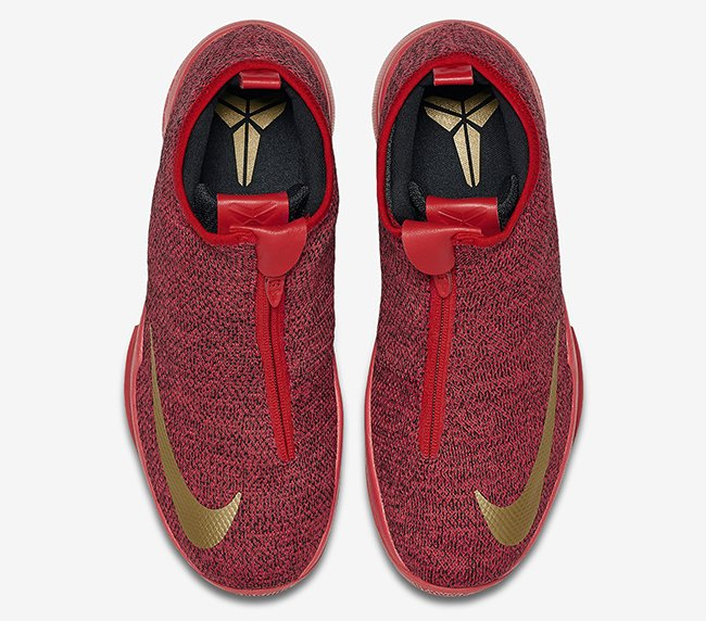 Nike Zoom Kobe Icon Red Gold