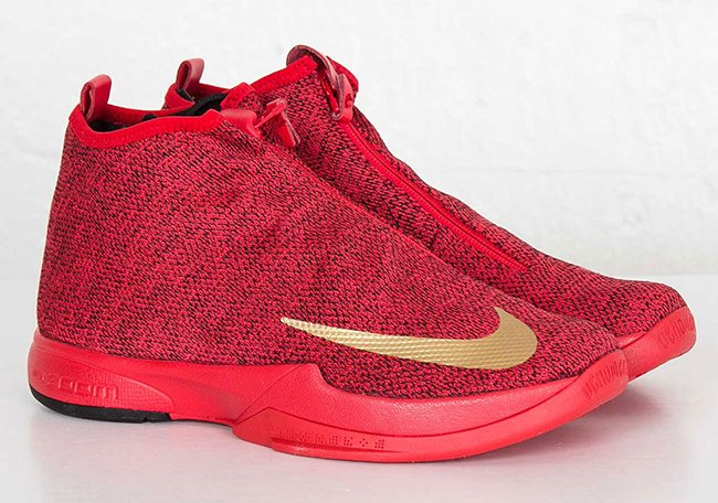 Nike Zoom Kobe Icon University Red Gold