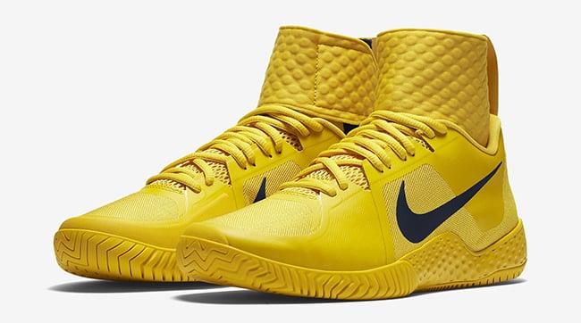 NikeCourt Flare Vivid Sulfur Yellow