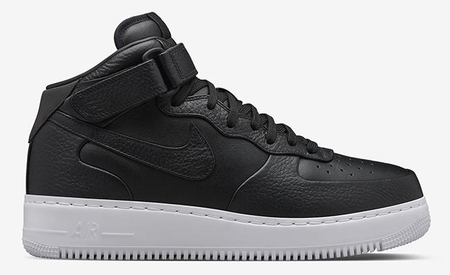 NikeLab Air Force 1 Mid Black