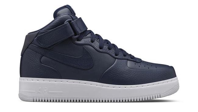 NikeLab Air Force 1 Mid CMFT Navy