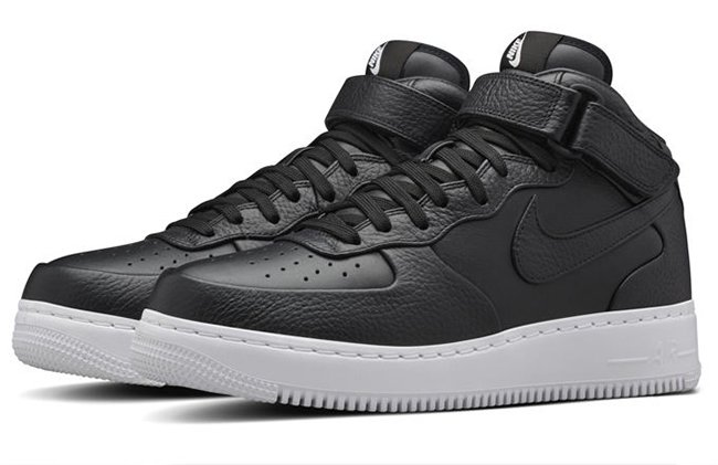 nike air force 1 mid black cheap