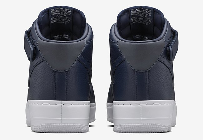 NikeLab Air Force 1 Mid Navy Blue