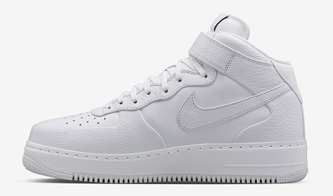NikeLab Air Force 1 Mid White