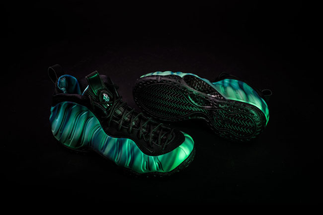 Northern Lights Foamposite One