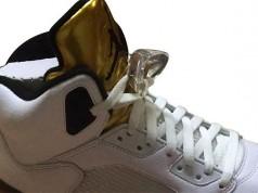 Olympic Gold Air Jordan 5