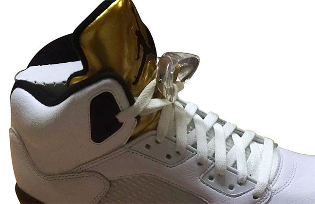 Olympic Gold Air Jordan 5