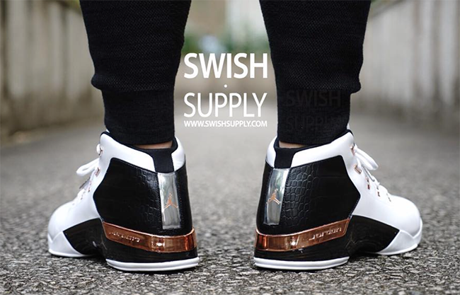 Air Jordan 17 Copper 2016 On Feet