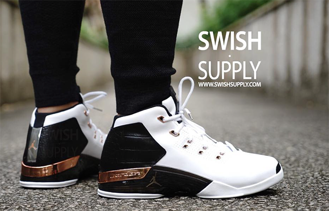 On Feet Air Jordan 17 Copper Retro