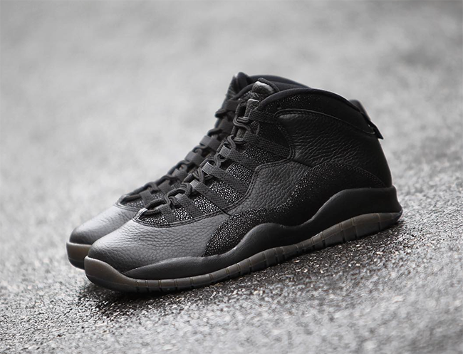 OVO Air Jordan 10 Black All Star