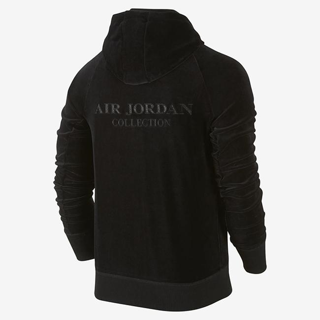 OVO Air Jordan Velour Hoodie