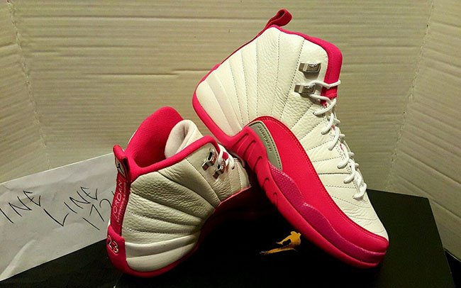 Pink Air Jordan 12 Girls 2016