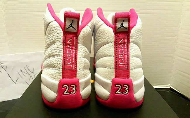 51d5c7cebc1478 80%OFF Air Jordan 12 GS Vivid Pink Drops Tomorrow - buchbinderei ...