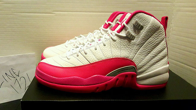 Pink Air Jordan 12 Girls 2016