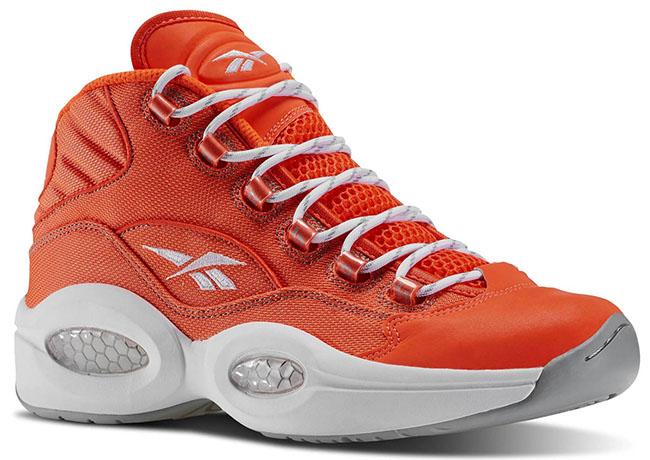 Reebok Question Orange White