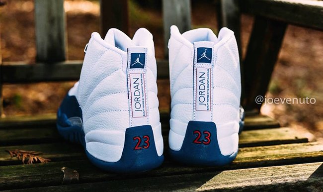 Retro Air Jordan 12 French Blue