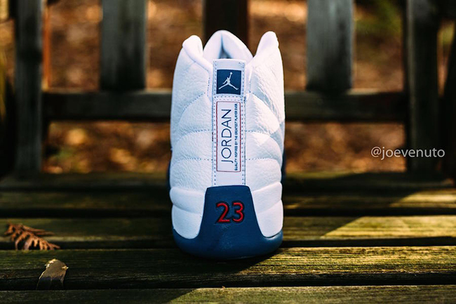 Retro Air Jordan 12 French Blue