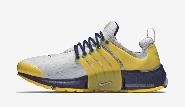 Nike Air Presto Cmouflage Black Royal Blue Yellow Red