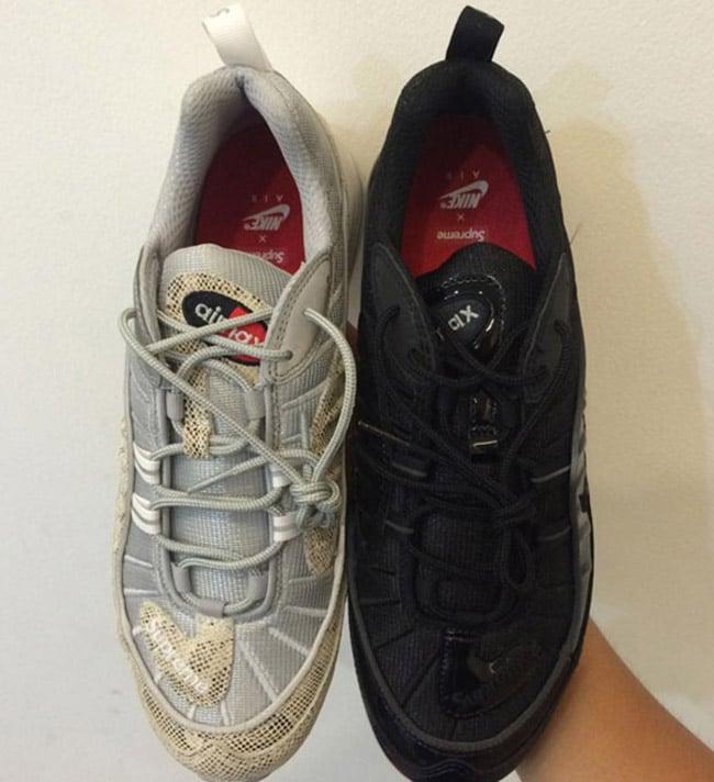 Supreme Nike Air Max 98 Sneakerfiles