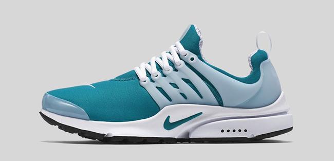 Teal Nike Air Presto