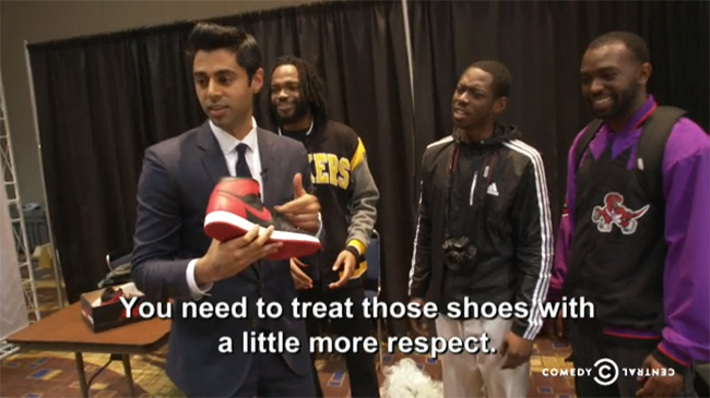 The Daily Show Sneaker Reselling