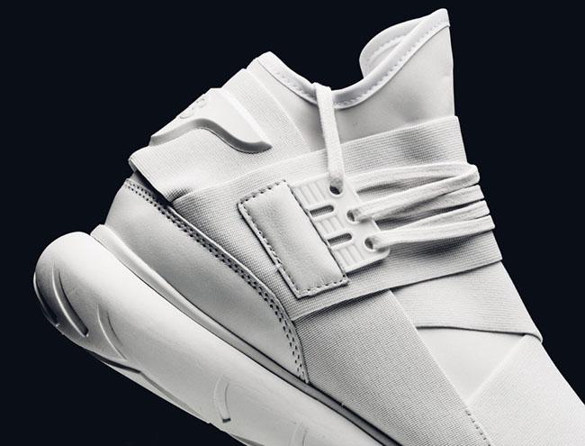 Triple White adidas Y 3 Qasa High