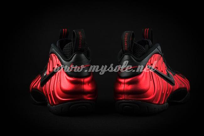 University Red Nike Foamposite Pro 2016