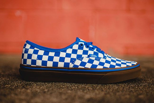 6adb369ca02 Vans Authentic Checkerboard Blue Gum