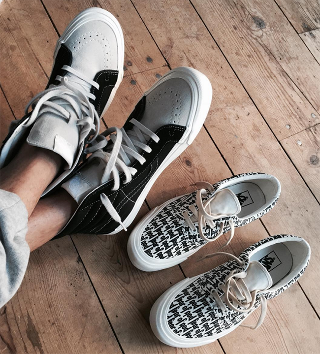 Fear of God Vans Jerry Lorenzo