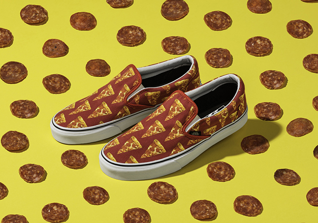 Vans Late Night Pizza Taco Burger Food Pack