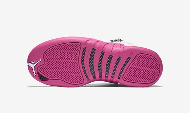White Pink Air Jordan 12 Retro